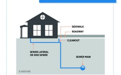 What causes a sewer line backup?